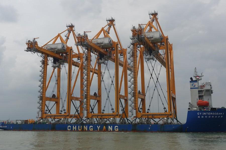 CY Interocean I for BigLift from Tianjin to Surabaya