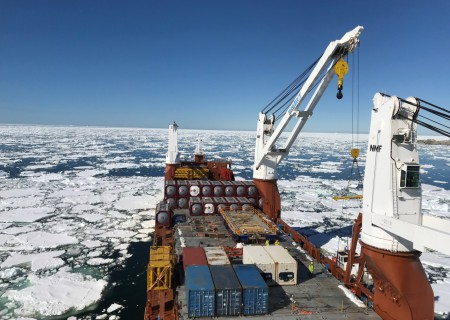 Antarctic research station in need of fuel