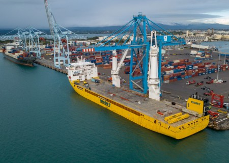 STS container crane to Guadeloupe