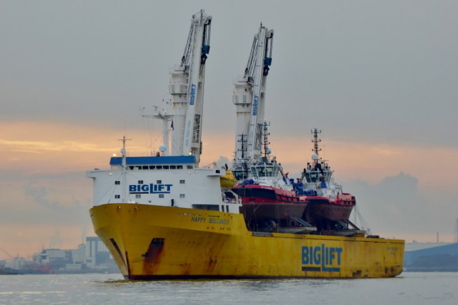 Three Rotor Tugs to Brunei
