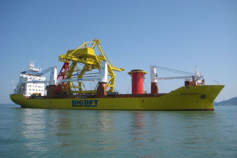 BTC Crane and Offshore jib crane