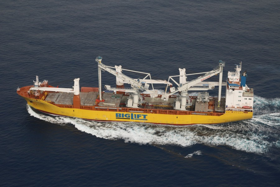 BigLift Shipping transports two Siwertell CSU's